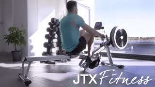 Air Rowing Machine: JTX Fitness Freedom Folding Rower