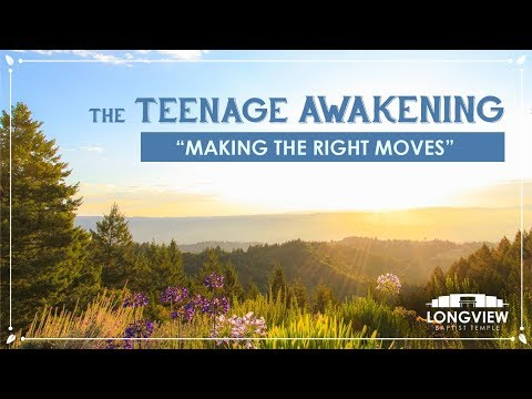 "The Teenage Awakening ""Making the Right Moves"" - Sunday Evening Service 3/4/18 - Pastor Bob Gray II"