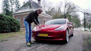 Tesla model 3, de 'betaalbare' Tesla is geniaal, maar ook onhandig