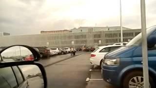 Новый аэропорт Пулково.Уроки автовождения.