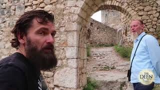 Australians pop up in Bosnia visit famous Castle learn about Islam
