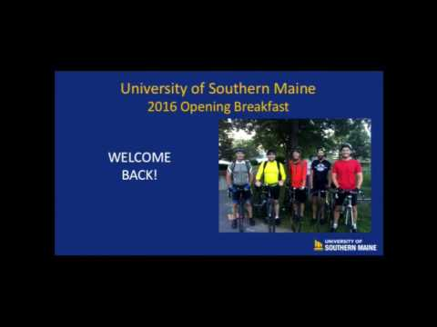 USM 2016 Opening Breakfast.