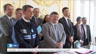 Versailles : forces de sécurité de l'Etat et police municipale