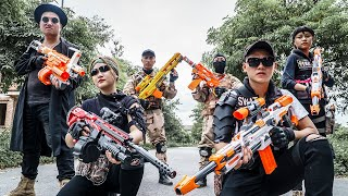 LTT Game Nerf War : SEAL X Nerf Guns Fight Braum Crazy Destroy Protest And Revenge
