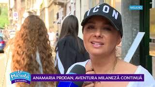 Anamaria Prodan cauta apartament in Milano pentru fiica Rebeca