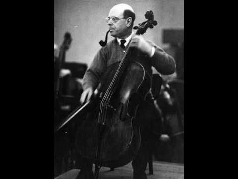 Pablo Casals: Dvorak Cello Concerto - 1st mvt. (1/2)