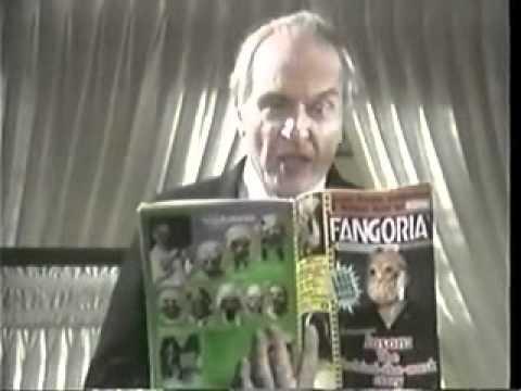 Fangoria Magazine Commercial