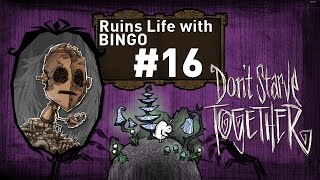 Solo Don't Starve Together - Ruins Life with Bingo - Episode 16