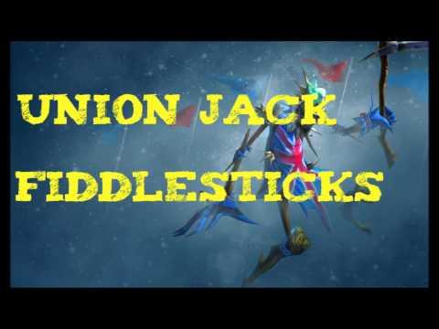 League of Legends - Union Jack Fiddlesticks