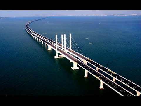 The longest bridge in the world: Danyang-Kunshan Grand Bridge