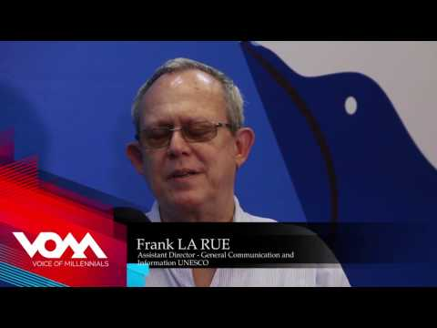 Our Press Freedom Today: The Frank LA RUE Interview