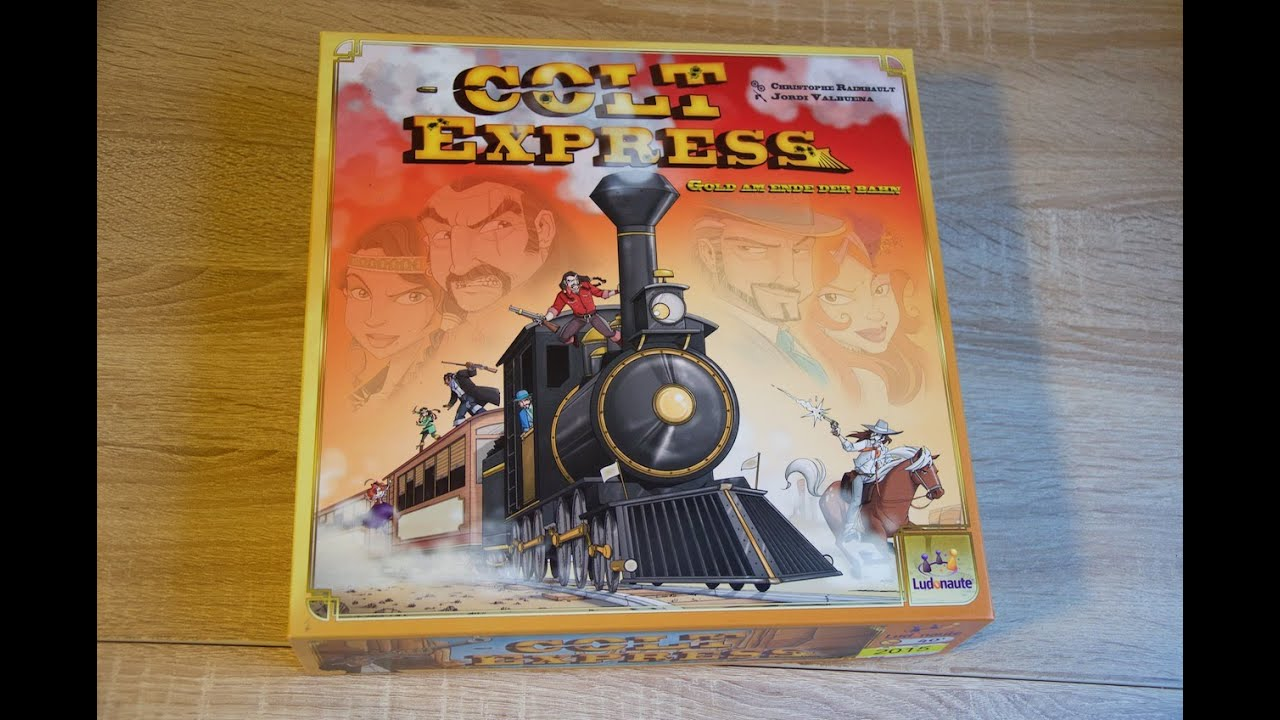 Colt Express Spiel