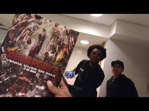 Fomos Ver Deadpoll 2 (vlog) Omega Play