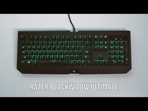 8980c930e13 Razer Blackwidow Ultimate (2018) Review - YouTube