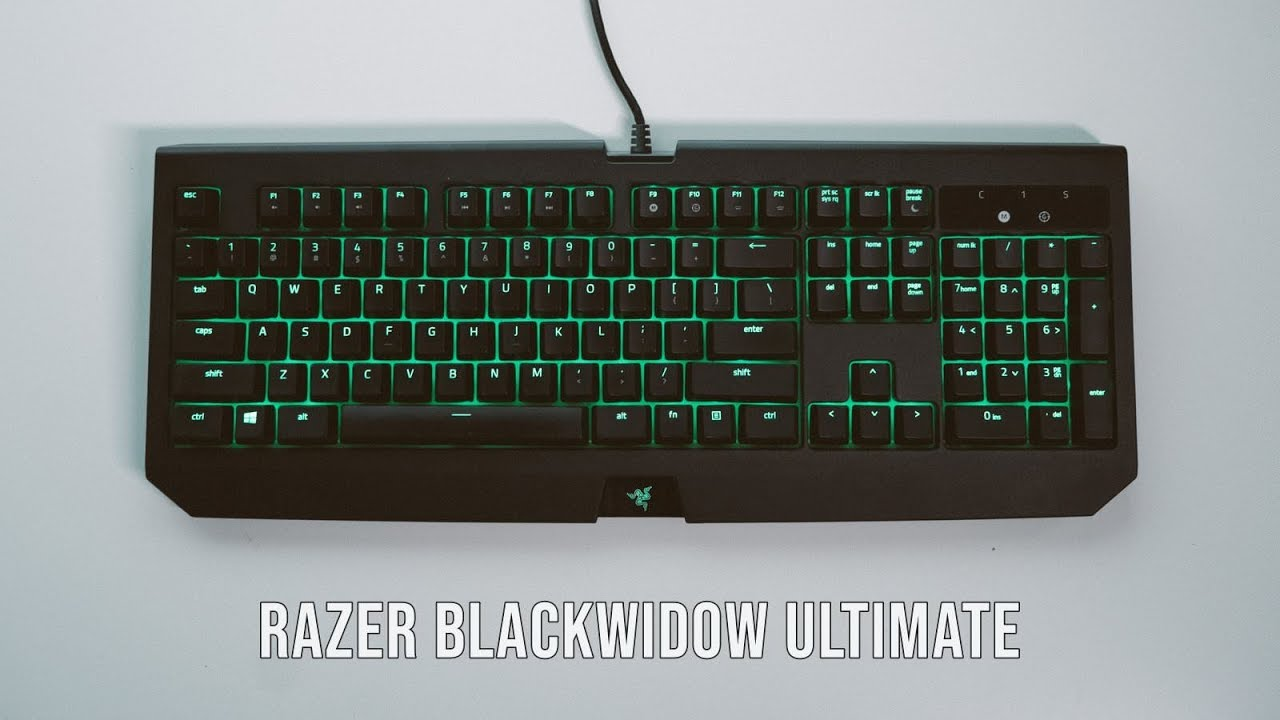 5b8e2907cc0 Razer Blackwidow Ultimate (2018) Review - YouTube