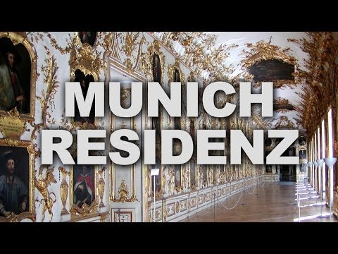 Munich Residenz, the Former Royal Palace of the Bavarian Monarchs