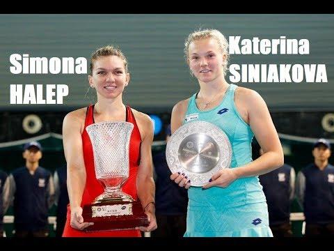 Simona HALEP (ROU) vs Katerina Siniakova (CZE) 🎾 2018 Shenzhen Open (video)