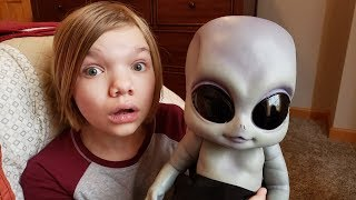 We found an alien baby in our yard and now he's living with us, but...