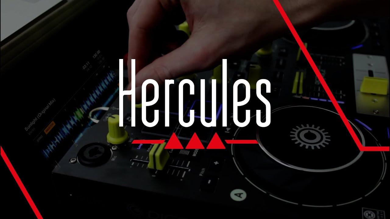 Hercules Djconsole Rmx2 Premium Tr Overview Youtube