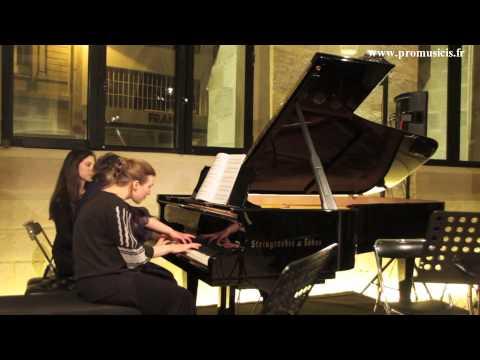 Erik Satie à 4 mains par Delphine Bardin, Célimène Daudet, Paloma Kouider et Xénia Maliarevitch