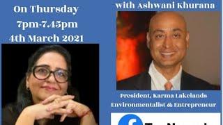 SHRUTI DUTT SHOW Exclusive Interaction with Ashwani Khurana, President, Karma Lakelands