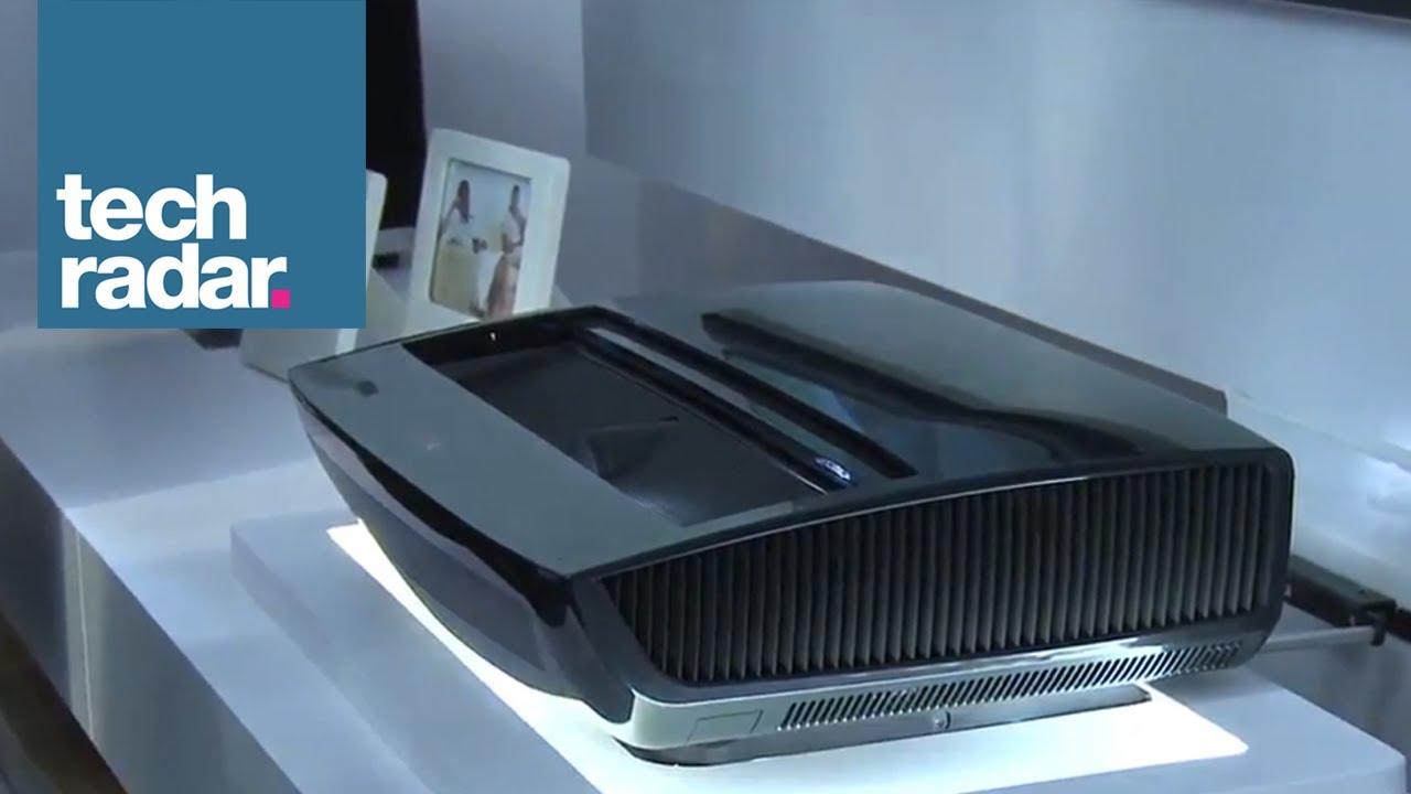 lg hecto laser tv projector youtube. Black Bedroom Furniture Sets. Home Design Ideas