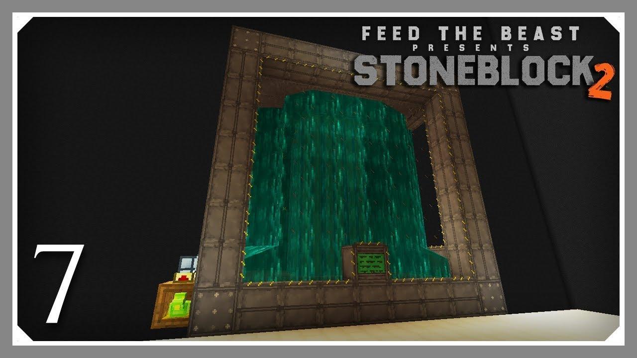 FTB Stoneblock 2 | Extreme Reactor & Nether Star! | E07 (FTB Stoneblock 2  Let's Play)