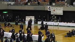 FUKUSHIMA vs OSAKA 67th All Japan Interprefecture KENDO Championship 2019 2nd Round