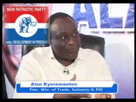 GOOD EVENING GHANA EXCLUSIVE WITH ALAN KYEREMANTEN