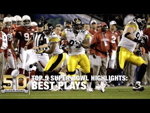 Top 5 Super Bowl Plays in History | NFL