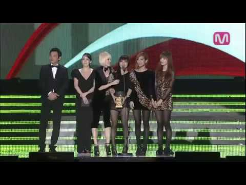 Miss A win Daesang Song of the Year MAMA 2010