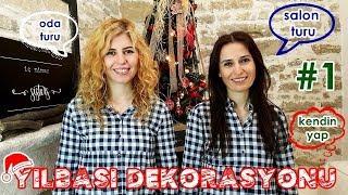RUSTİK YILBAŞI DEKORASYONU - YILBAŞI SALON TURU - İç Mimar Sisters