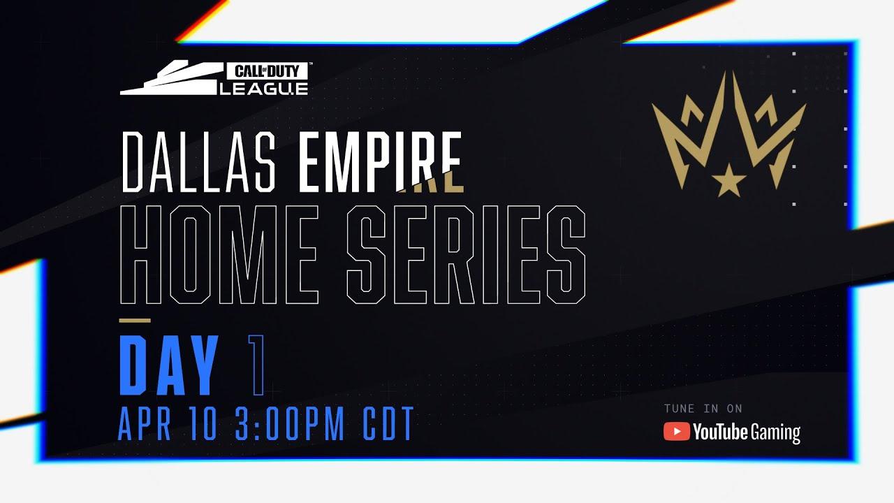 Call Of Duty League 2020 Season | Dallas Empire Home Series | Day 1