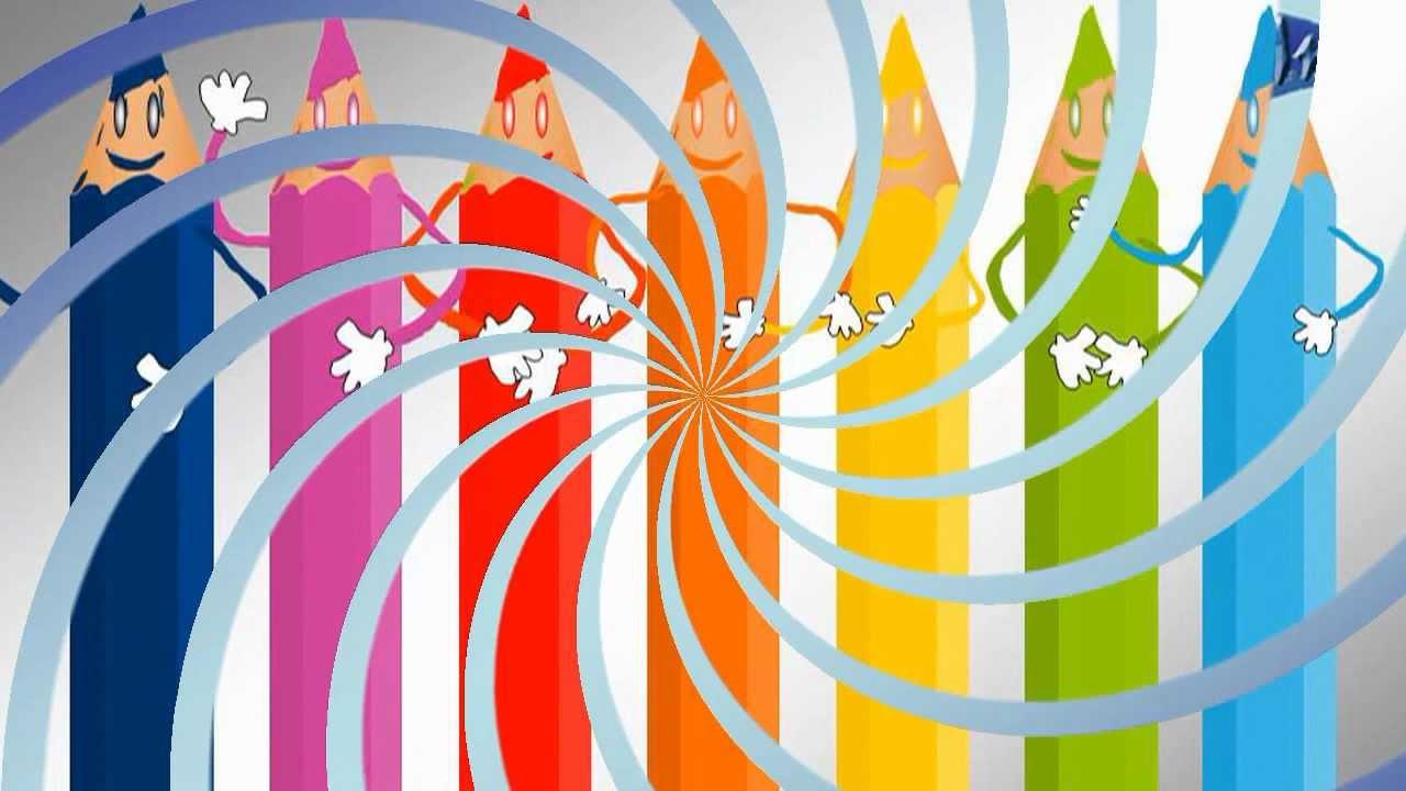 Cuento para ni os la disputa de los colores youtube for Caja de colores jardin infantil