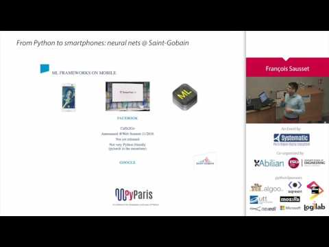 Image from From Python to smartphones: neural nets @ Saint-Gobain