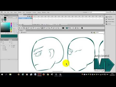 how to effect 3D 360* derajat on Adobe Flash cs 6