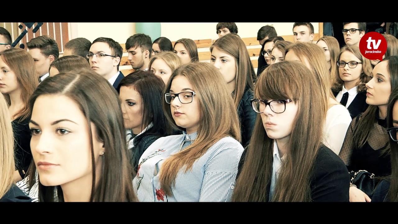 Zakończenie roku szkolnego klas maturalnych LO Jarocin