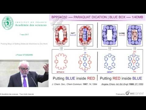 [Conférence] JF. STODDARD - Probing Ways of Getting Molecular Machines to (Do) Work