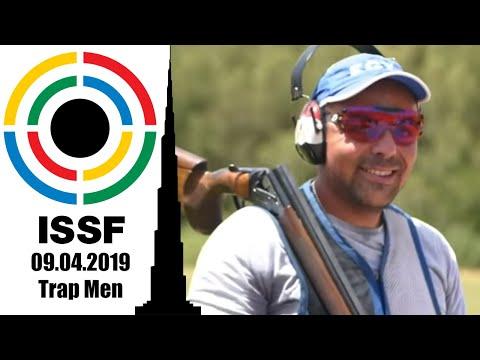 ISSF WC Shotgun, Al Ain, UAE. Trap Men 09.04.19
