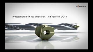 Wechselplatte p6006 - und - wechselplatten-bohrer d4140