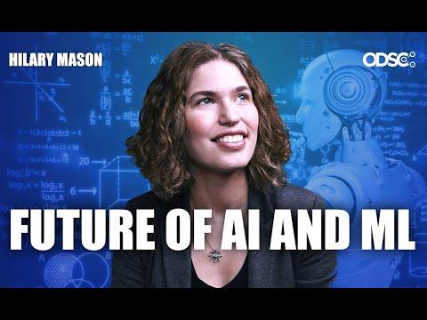 Hilary Mason: The Future of AI and Machine Learning | Keynote Address | ODSC East 2019