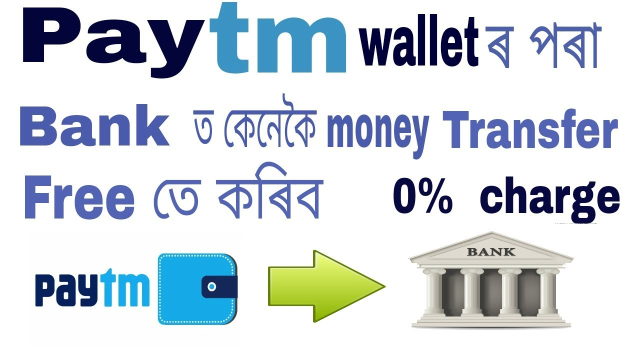 Transfer Money From Paytm Wallet To Bank Account Without Fees In Amese