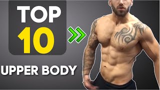 Top 10 Exercises - Top 10 No Equipment Upper body exercises