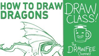How to Draw Dragons - DRAWCLASS