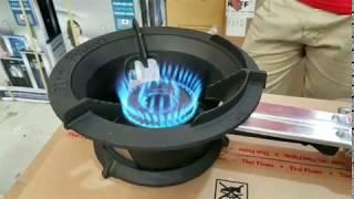 Bếp Khè Gas Công Nghiệp THÁI FLAME lửa lớn quán ăn nhà hàng