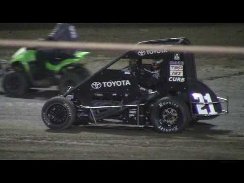 Christopher Bell & Kyle Larson Put on the greatest midget show on Dirt EVER!!