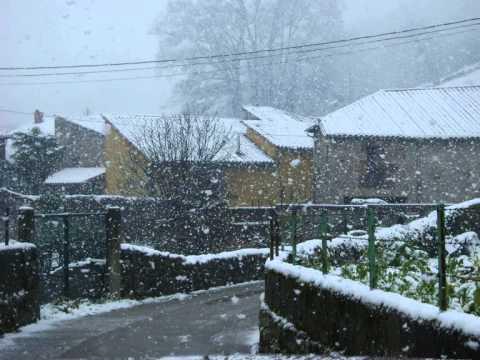 nevada en Barriopalacio de Anievas (febrero 2013)