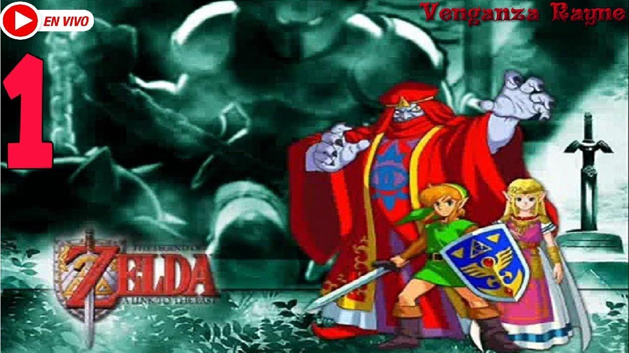 The Legend Of Zelda a Link To The Past en español HD # 1 Despierta Link !!!