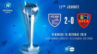 J11 | FC Villefranche B. - GFC Ajaccio (2-0), le résumé I National FFF 2019-2020