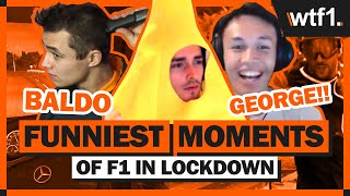 12 Of The Funniest Moments From F1 Lockdown